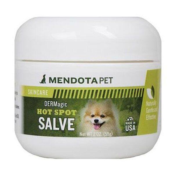 DERMagic Hot Spot Salve, 55 g - koncentrēta mūsu losjona Skin Rescue Lotion formula, iekaisušai, inficētai un niezošai ādai