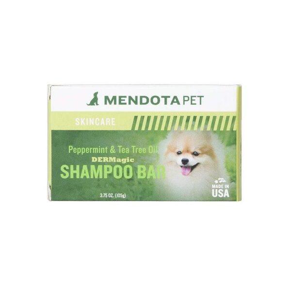DERMagic Organic Shampoo Bar - Peppermint & Tea Tree Oil, 105 g - dziļa attīrīšana