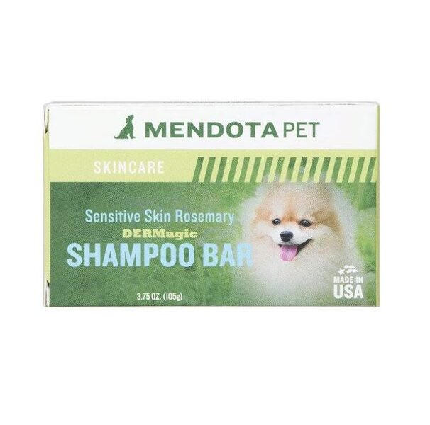 DERMagic Organic Shampoo Bar - Sensitive Skin Rosemary, 105 g - jutīgai ādai