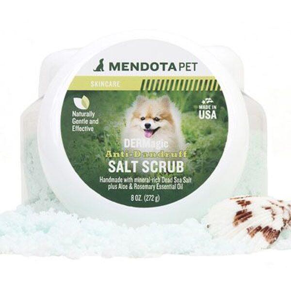 DERMagic Anti-Dandruff Salt Scrub, 272 g - sāls skrubis no blaugznām, efektīvs pret blusām