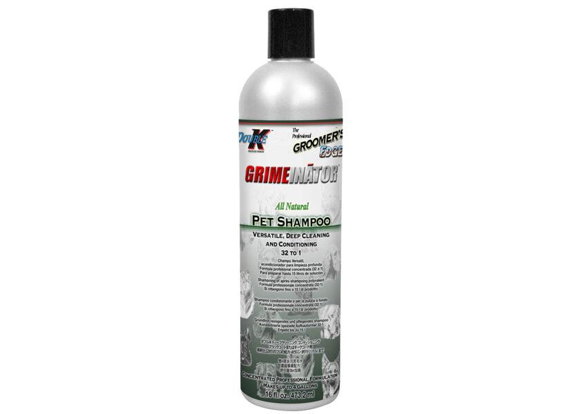 Double K Grimeinator Shampoo, 473 ml -  dziļas attīrīšanas un kondicionēšanas šampūns