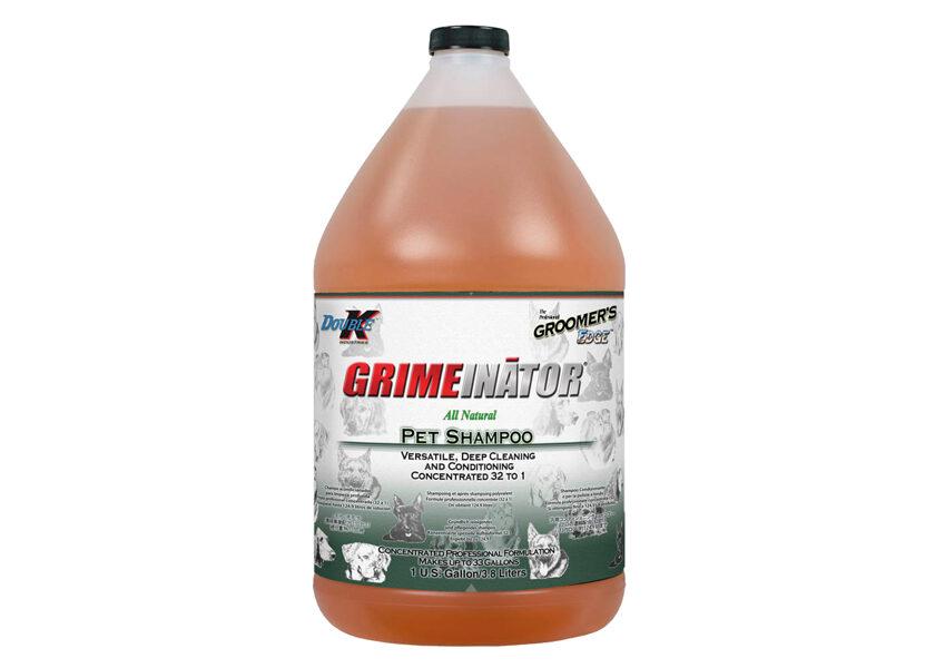Double K Grimeinator Shampoo, 3,8 L-  dziļas attīrīšanas un kondicionēšanas šampūns
