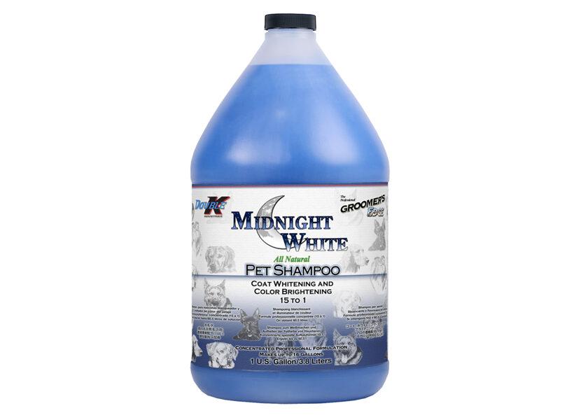 Double K Midnight White Shampoo, 3,8 L - balināšanai un citu krāsu spilgtumam