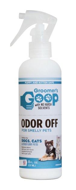 Groomer`s Goop Odor Off, 237 ml - līdzeklis smaku noņemšanai un likvidēšanai no spalvas un citām virsmām