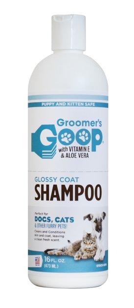 Groomer`s Goop Glossy Coat Pet Shampoo, 473ml - šampūns visiem spalvas tipiem