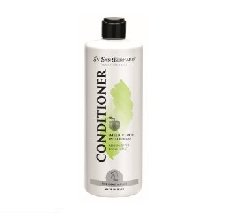 Iv San Bernard Green Apple Conditioner, 500 ml - gives softness and shine to long-haired coats
