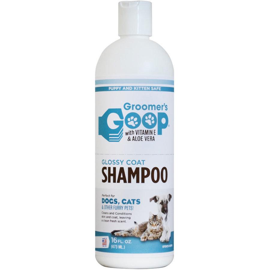 Groomer`s Goop Glossy Coat Pet Shampoo, 473 ml - шампунь для всех типов шерсти
