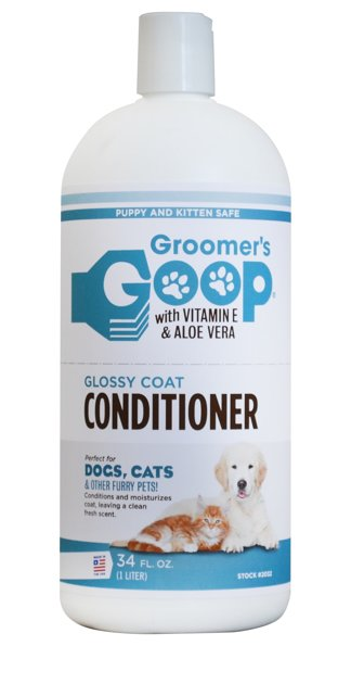 Groomer`s Goop Glossy Coat Pet Conditioner, 1000 ml - kondicionieris visiem spalvas tipiem