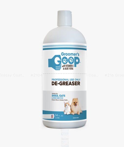 Groomer`s Goop De-Greaser (Liquid), 1000 ml - gēls visgrūtāko piesārņojumu noņemšanai