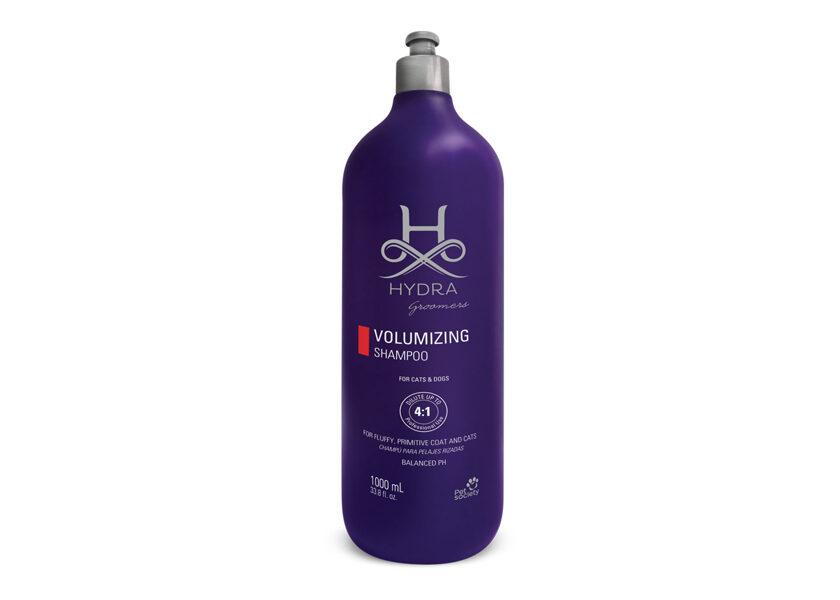 Hydra Groomers Groomers Volumizing Shampoo, 1000 ml - PROFESIONĀĻIEM, blīviem un cirtainiem mēteļiem suņiem un kaķiem