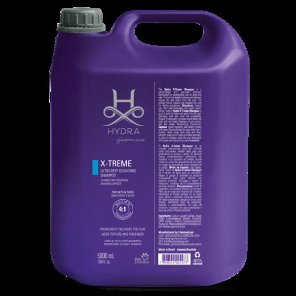 Hydra Groomers X-treme Deep Cleansing / Clarifying Shampoo Gallon, 5000 ml - PROFESIONĀĻIEM, dziļi attīrošs šampūns