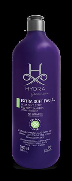 Hydra Groomers Extra Soft Facial and Full Body Hypo Shampoo, 1000 ml - PROFESIONĀĻIEM, hipoalerģisks maigs šampūns