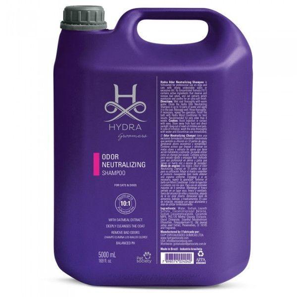 Hydra Groomers Odor Neutralizing Shampoo Gallon, 5000 ml - PROFESIONĀĻIEM, neitralizējošs šampūns visiem kaķiem un suņiem