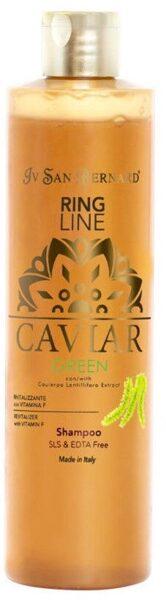 Iv San Bernard Caviar GREEN Shampoo SLS/EDTA Free, 1000 ml - dzīvīgums, stiprums, atjaunošana, bez silikoniem