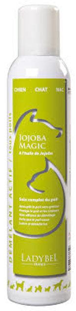 Ladybel Jojoba Magic, 300 ml - savēlumu atšķetinošs un mitrinošs spalvas kopšanas aerosols