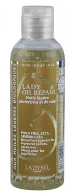 Ladybel Lady Oil Repair, 200 ml - nodrošina plānas un kuplas vilnas barošanu, atjaunošanu un aizsardzību