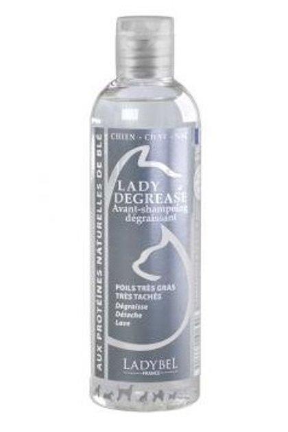 Ladybel Lady Degrease Shampoo, 200 ml - Dziļi attīrošs šampūns taukainai spalvai
