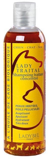 Ladybel Lady Traital Shampoo, 200 ml - efektīvs pret blaugznām, dermatītu, ekzēmu