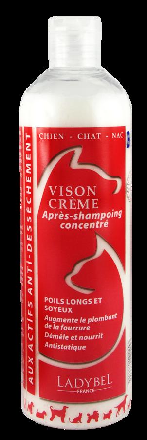 Ladybel Lady Vison Creme, 200 ml - mitrinošs un savēlumus atšķetinošs kondicionieris ar ūdeles eļļu