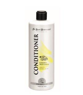 Iv San Bernard Lemon Conditioner, 500 ml - softens and helps prevent dandruff, for short-haired pets