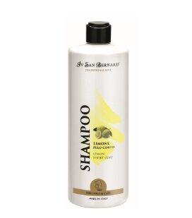 Iv San Bernard Lemon Shampoo, 500 ml - softens and helps prevent dandruff, short-haired pets