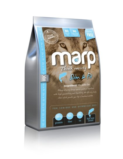 Marp Think Variety Slim and Fit - Baltā Zivs, 2kg