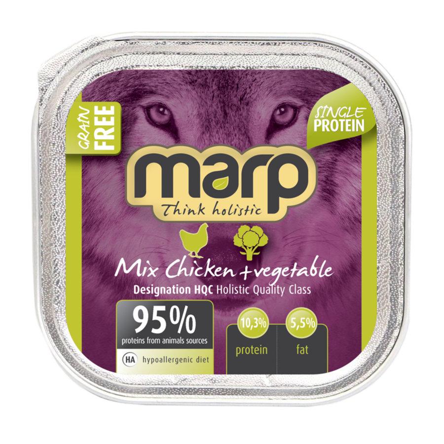 Marp Think Holistic Mix Chicken with Vegetables - ar vistu un dārzeņiem, 100 g