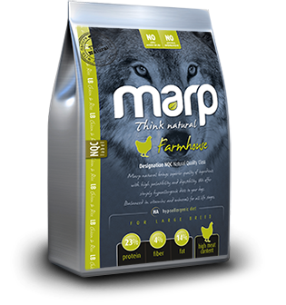 Marp Think Natural Farmhouse - Курица (Крупные гранулы), 2 kg
