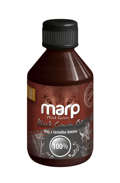 MARP Think Holistic Black Cumin Oil, 250 ml - melno ķimeņu eļļa