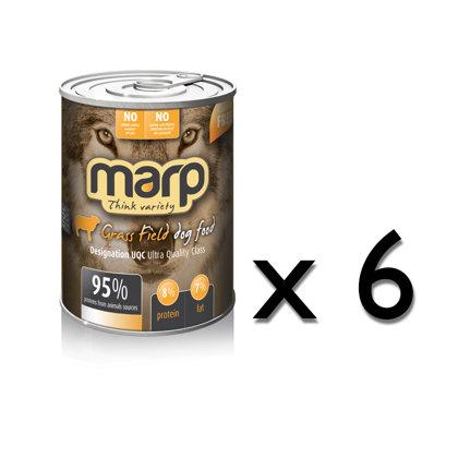 Marp Think Variety Grass Field - Tītars, Bifelis, Jērs, 400g