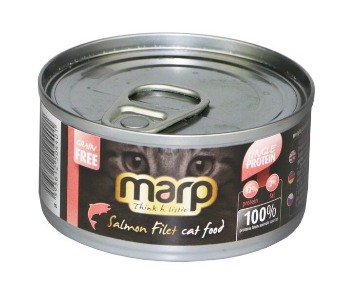 Marp Think Holistic Salmon Filet Cat Food - laša fileja, 70g