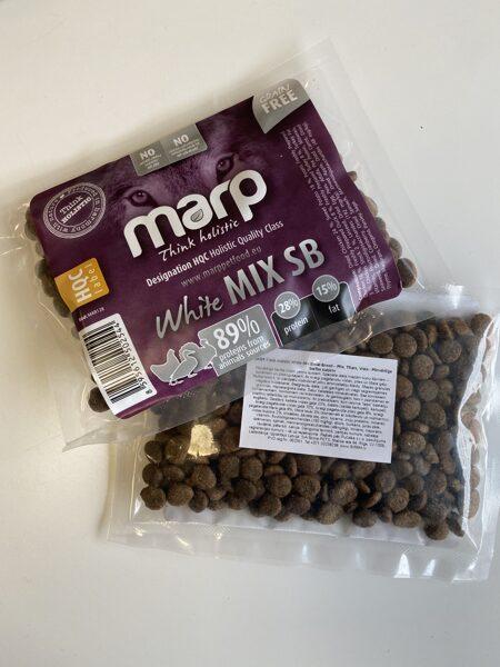 Marp Think Holistic White Mix Small Breed - Vista, Tītars, Pīle, 70 g, paraudziņš