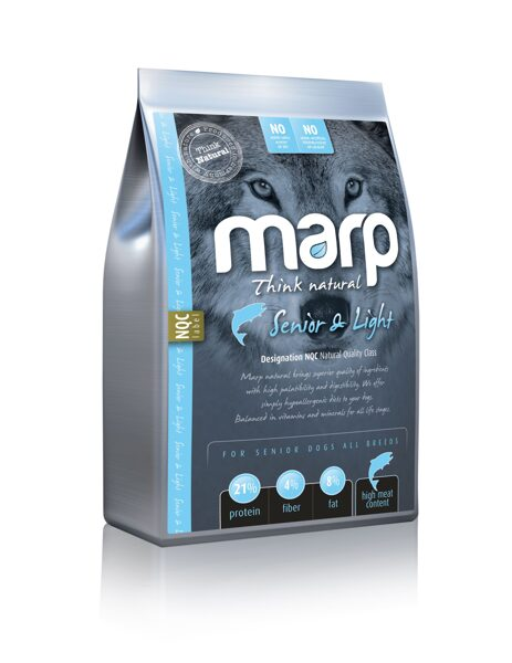 Marp Think Natural Senior & Light - Zivs, 2 kg