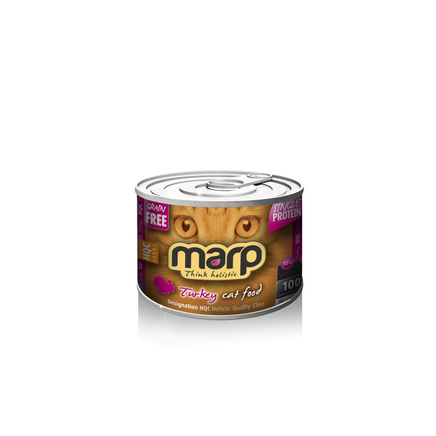 Marp Think Holistic Turkey Cat Food - Tītars, 200 g