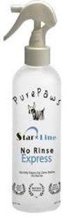 """Pure Paws No Rinse Express, 473ml - спрей для ежедневного очищения и ухода за шерстью, """"сухой"""" шампунь"""