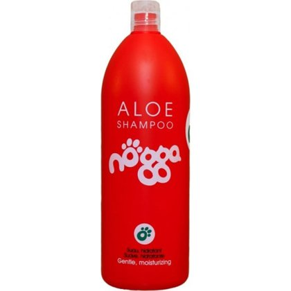 Nogga Classic Line Aloe Shampoo, 1000 ml - базовый повседневный шампунь с алоэ для всех типов шерсти