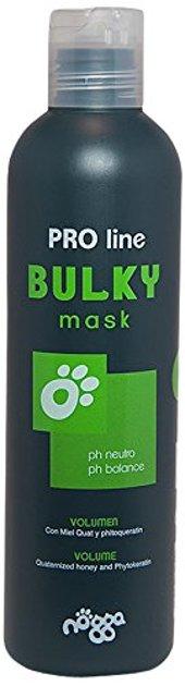 Nogga Bulky Mask, 250 ml - dziļi mitrinoša maska šķirnēm, kuru spalvai ir nepieciešams papildu apjoms