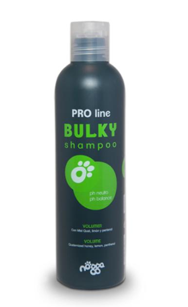 Nogga PRO Line Bulky Shampoo, 250 ml - Dziļi mitrinošs šampūns papildu apjomam