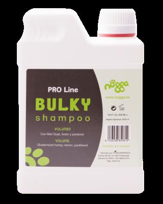 Nogga PRO Line Bulky Shampoo, 500 ml - Dziļi mitrinošs šampūns papildu apjomam