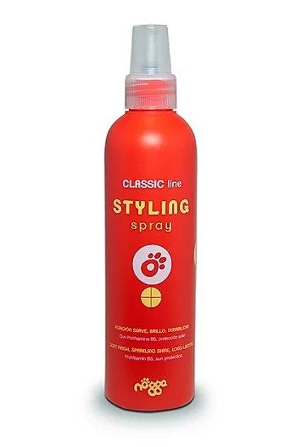 Nogga Classic Line Styling Spray, 250 ml - sprejs spalvas ieveidošanai, piešķir apjomu