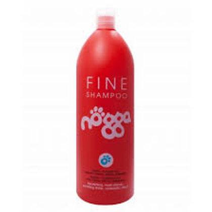 Nogga Classic Line Fine Shampoo, 1000 ml - Mitrinošs šampūns šķirnēm, kuru spalvai ir nepieciešams apjoms
