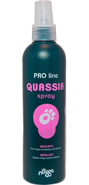 Nogga PRO Line Quassia Flea & Tick Spray, 250 ml - antiparazītu sprejs