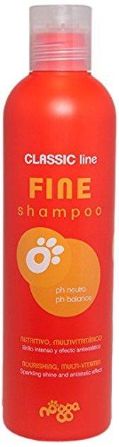 Nogga Classic Line Fine Shampoo, 250 ml - Mitrinošs šampūns šķirnēm, kuru spalvai ir nepieciešams apjoms