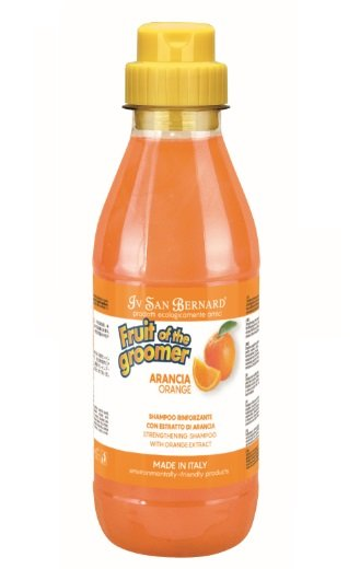 Iv San Bernard Orange Shampoo, 500 ml - strengthening anti-stress shampoo, regulates the balance of sebum