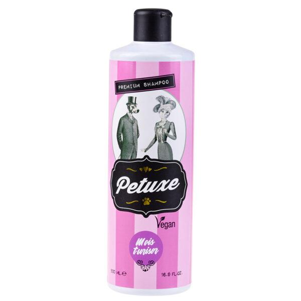 Petuxe Moisturizing Shampoo, 200 ml - VEGAN, mitrinošs šampūns, kas paredzēts sausu un bojātu kažoku atdzīvināšanai