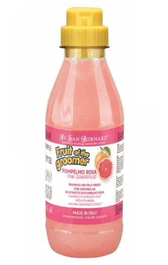 Iv San Bernard Pink Grapefruit Shampoo, 500 ml - для шерсти средней длины, тонизирующий шампунь