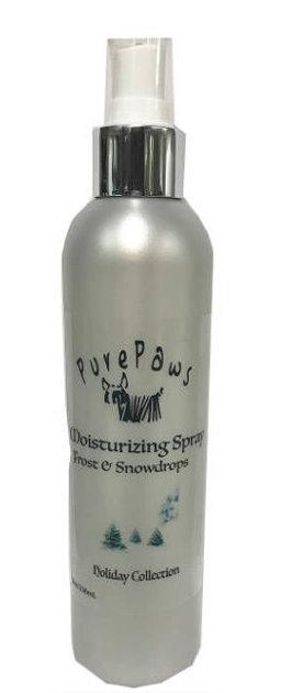 Pure Paws Moisturizing Spray - Frost & Snowdrops, 237 ml - nodrošina dzīvībai svarīgas barības vielas, lai mitrinātu un aizsargātu ādu
