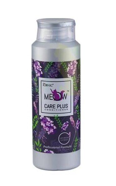 True Iconic Meow Care Plus Conditioner, 400 ml - kaķu šķirnēm, kurām nepieciešama pūkains, mīksts un biezāks kažoks
