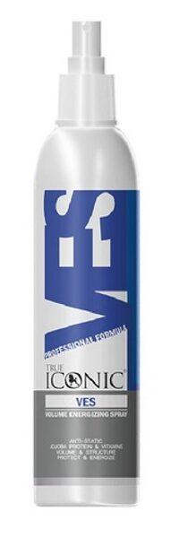 True Iconic Volume Energizing Spray, 300 ml - palielina apjomu, maigumu un gludumu, novērš pinku veidošanos, statisku un šķelšanos
