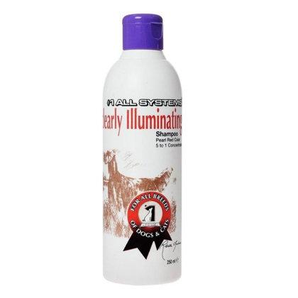 #1 All Systems Clearly Illuminating Shampoo, 250 ml - maigi attīrošs šampūns, kas atjauno spalvas krāsu